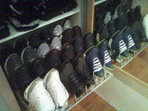 collection de baskets
