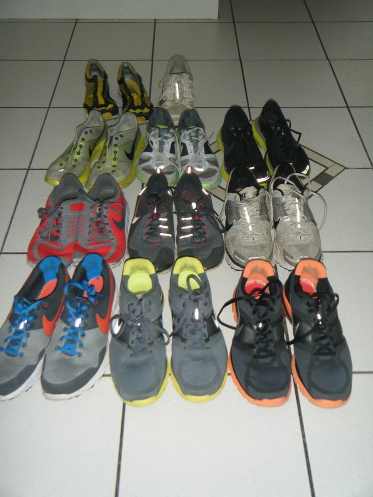 collection de baskets