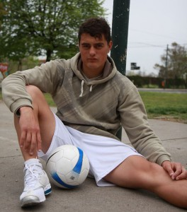 skets de footballer