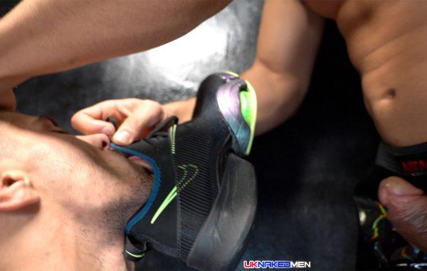 foot, sneakers and sock fetish